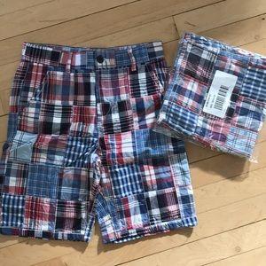 The Children's Place madras plaid boys shorts 10